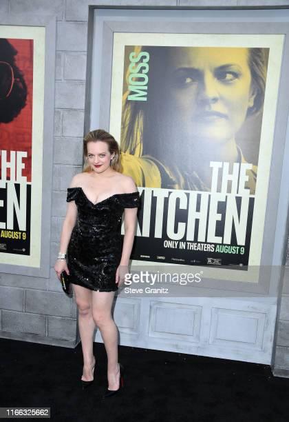 Elisabeth Moss arrives at the Premiere Of Warner Bros Pictures' The Kitchen Premiere Of Warner Bros Pictures' The Kitchen at TCL Chinese Theatre on...