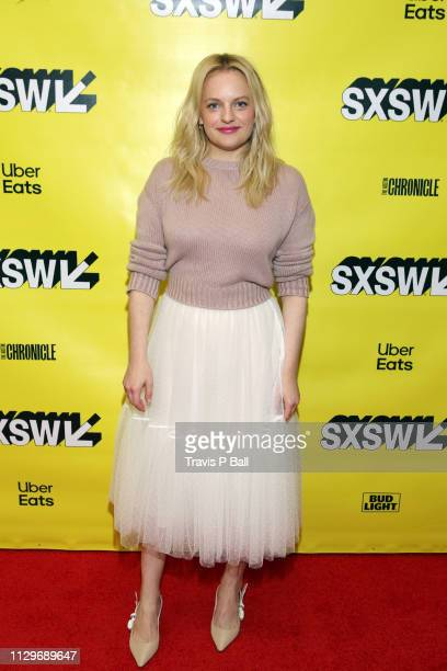 Elisabeth Moss attends Featured Session Elisabeth Moss with Brandi Carlile during the 2019 SXSW Conference and Festivals at Austin Convention Center...