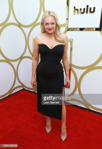 Elisabeth Moss attends Hulu's 2018 Emmy Party at Nomad Hotel Los Angeles on September 17 2018 in Los Angeles California