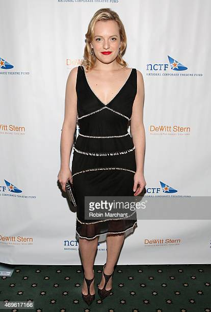 Elisabeth Moss attends National Corporate Theatre Fund's 2015 Chairman's Awards Gala at The Pierre Hotel on April 13 2015 in New York City