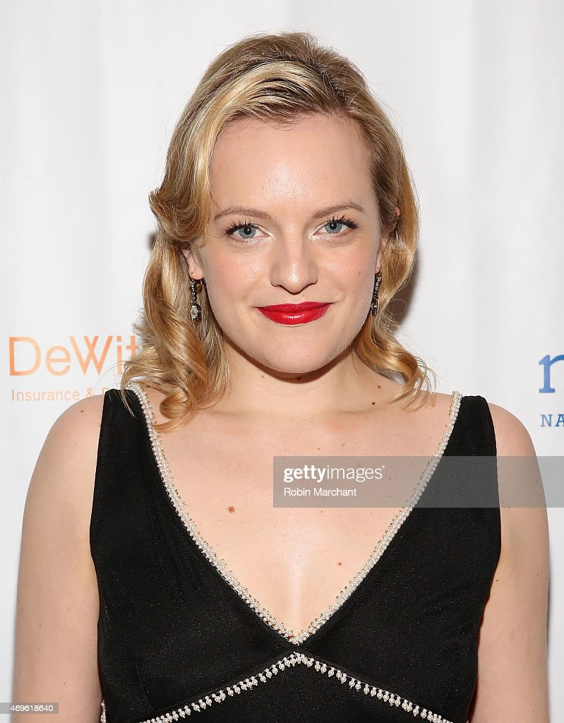 Elisabeth Moss attends National Corporate Theatre Fund's 2015 Chairman's Awards Gala at The Pierre Hotel on April 13, 2015 in New York City.