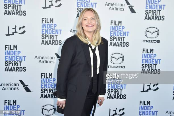 Elisabeth Moss attends the 2020 Film Independent Spirit Awards on February 08 2020 in Santa Monica California