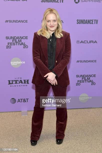 Elisabeth Moss attends the 2020 Sundance Film Festival Shirley Premiere at Eccles Center Theatre on January 25 2020 in Park City Utah