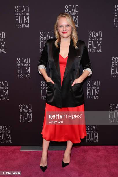 Elisabeth Moss attends the 22nd SCAD Savannah Film Festival on October 31, 2019 at Trustees Theater in Savannah, Georgia.
