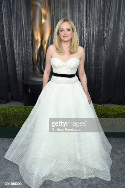 Elisabeth Moss attends the 25th Annual Screen Actors Guild Awards at The Shrine Auditorium on January 27 2019 in Los Angeles California 480595