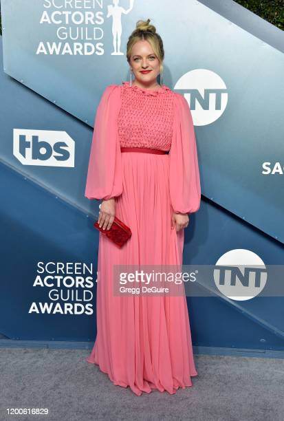 Elisabeth Moss attends the 26th Annual Screen Actors Guild Awards at The Shrine Auditorium on January 19 2020 in Los Angeles California 721430