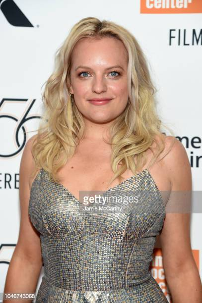 Elisabeth Moss attends the 56th New York Film Festival Her Smell premiere at Alice Tully Hall Lincoln Center on September 29 2018 in New York City