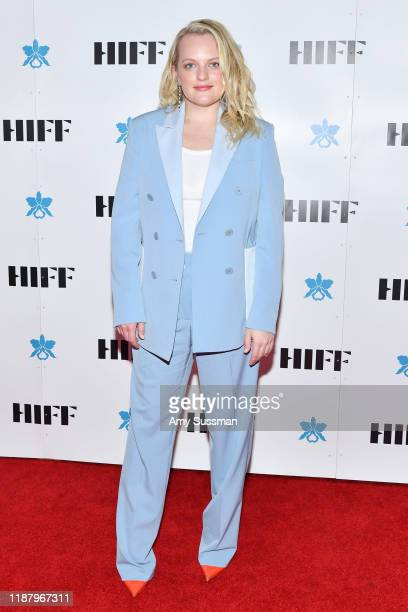 Elisabeth Moss attends the Awards Gala during the 39th Annual Hawai'i International Film Festival presented by Halekulani on November 15 2019 in...