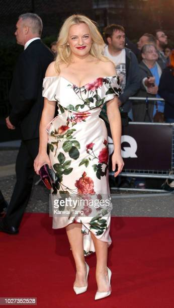 Elisabeth Moss attends the GQ Men of the Year Awards at Tate Modern on September 5, 2018 in London, England.