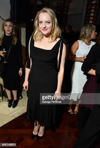 Elisabeth Moss attends The Hollywood Foreign Press Association and InStyle's annual celebrations of the 2017 Toronto International Film Festival at...
