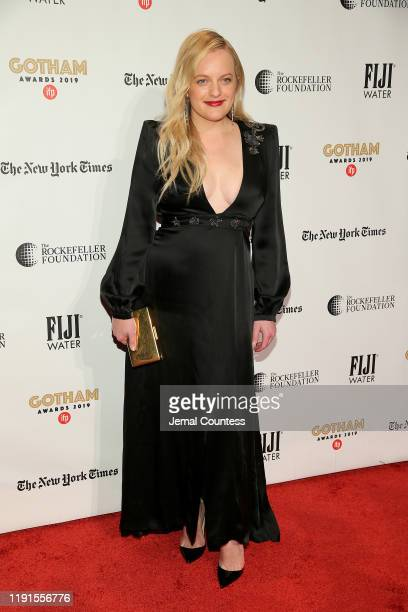 Elisabeth Moss attends the IFP's 29th Annual Gotham Independent Film Awards at Cipriani Wall Street on December 02, 2019 in New York City.