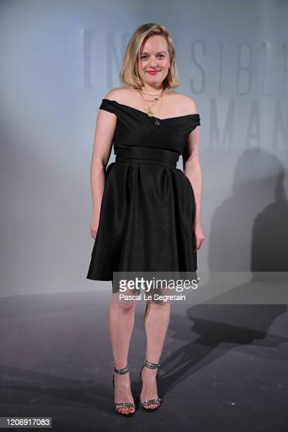 Elisabeth Moss attends the Invisible Man premiere at Gaumont Champs Elysees on February 17 2020 in Paris France