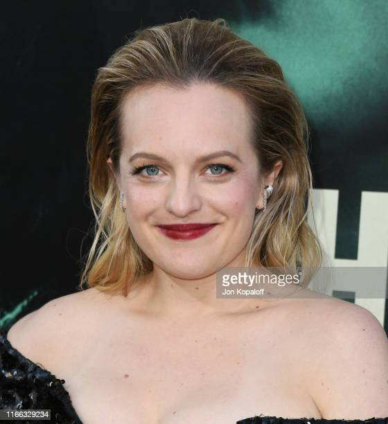 Elisabeth Moss attends the Premiere Of Warner Bros Pictures' The Kitchen at TCL Chinese Theatre on August 05 2019 in Hollywood California