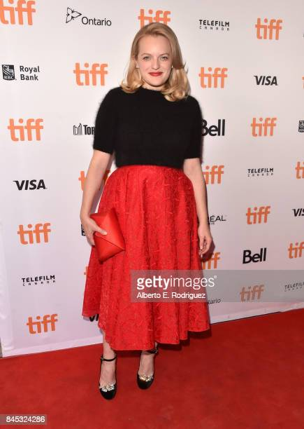 Elisabeth Moss attends The Square premiere during the 2017 Toronto International Film Festival at The Elgin on September 10 2017 in Toronto Canada
