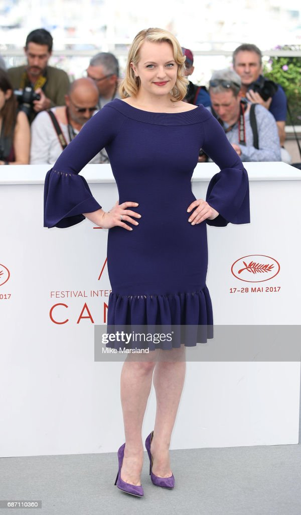 Elisabeth Moss attends the 'Top Of The Lake: China Girl' photocall during the 70th annual Cannes Film Festival at Palais des Festivals on May 23, 2017 in Cannes, France.
