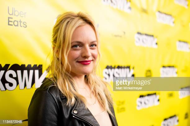 """Elisabeth Moss attends the """"Us"""" Premiere 2019 SXSW Conference and Festivals at Paramount Theater at Stateside Theater on March 08, 2019 in Austin,..."""