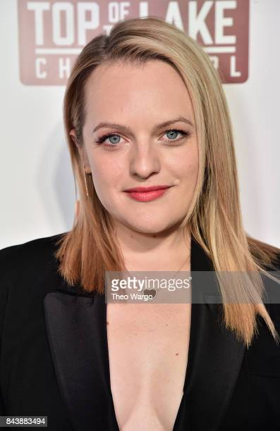 """Elisabeth Moss attends """"Top Of The Lake China Girl"""" Premiere at Walter Reade Theater on September 7, 2017 in New York City."""