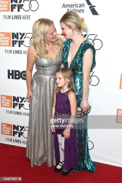 Elisabeth Moss Daisy PughWeiss and Gayle Rankin attend the 56th New York Film Festival Her Smell premiere at Alice Tully Hall Lincoln Center on...