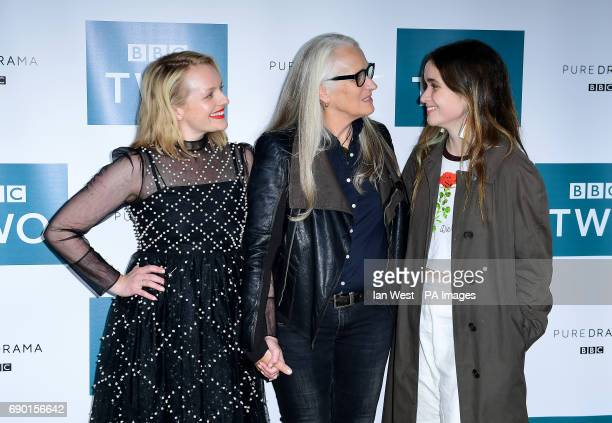 Elisabeth Moss Director Jane Campion and Alice Englert attending the Top of The Lake China Girl Photocall at BFI Southbank in London PRESS...