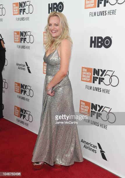 Elisabeth Moss the 56th New York Film Festival Her Smell premiere at Alice Tully Hall Lincoln Center on September 29 2018 in New York City
