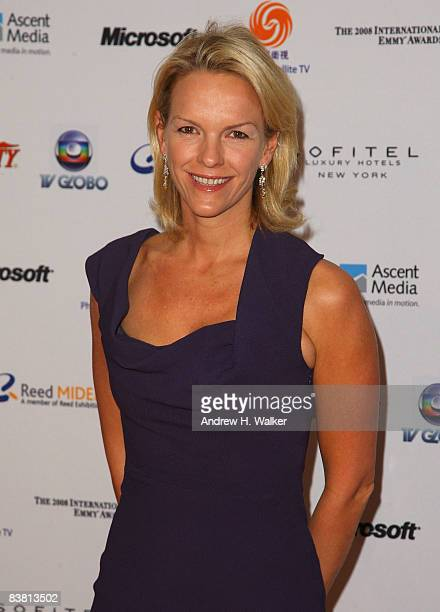 Elisabeth Murdoch attends the 36th annual International Emmy Awards recognizing excellence in television programming produced outside of the United...