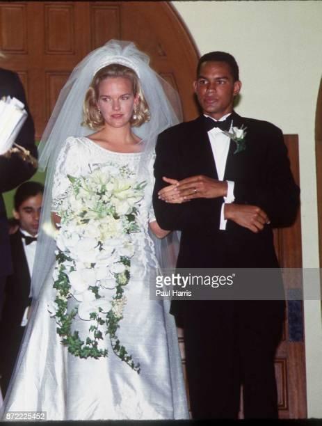 Elisabeth Murdoch daughter of Rupert Murdoch marries Elkin Pianim the son of a Ghanaian politician on September 10 Century City Los Angeles California