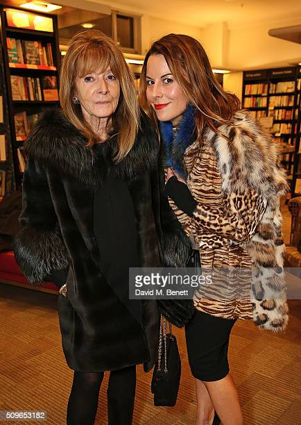 Elisabeth Neilson and Julia Angus attend the launch of Annabelle Neilson's new children's books 'Dreamy Me' and 'Messy Me' at Waterstones Piccadilly...