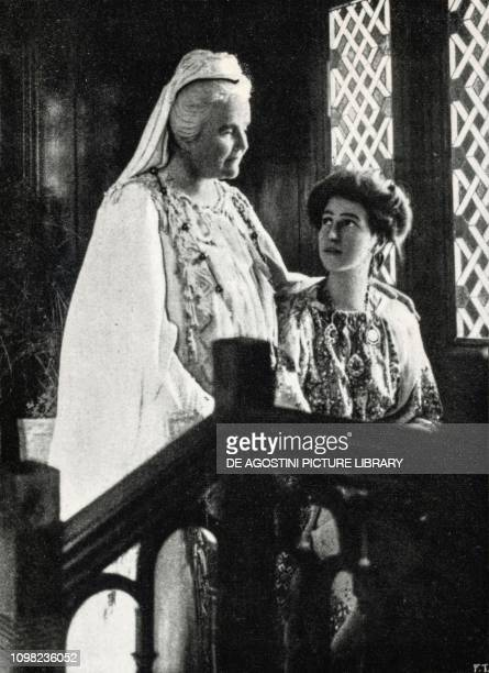 Elisabeth of Wied Queen consort of Romania known by her literary name as Carmen Sylva 1913