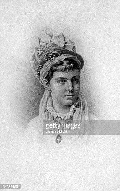 Elisabeth Princess of SaxonyAltenburg *2603182602021896 wife of Peter II Grand Duke of Oldenburg portrait date unknown probably around 1852