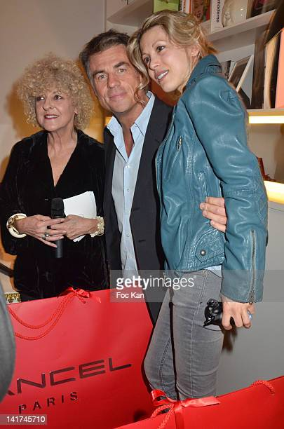 Elisabeth Reynaud Bruno Gaccio and Tristane Banon attend the 'Prix Bel Ami 2012' Women Literary Awards at the Hotel Bel Ami on March 22 2012 in Paris...