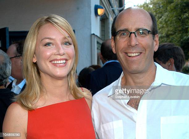 Elisabeth Rohm and Chairman and CEO of Showtime Matt Blank