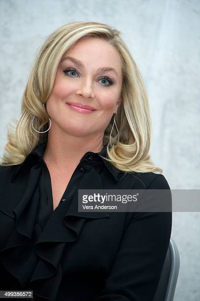 Elisabeth Rohm at the 'Joy' Press Conference at the InterContinental Hotel on November 29 2015 in Century City California