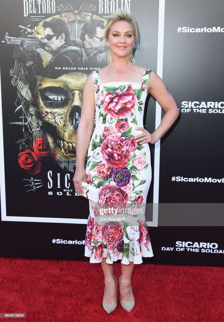 Elisabeth Rohm attends Columbia Pictures' 'Sicario: Day Of The Soldado' Premiere at Westwood Regency Theater on June 26, 2018 in Los Angeles, California.