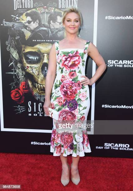 Elisabeth Rohm attends Columbia Pictures' Sicario Day Of The Soldado Premiere at Westwood Regency Theater on June 26 2018 in Los Angeles California