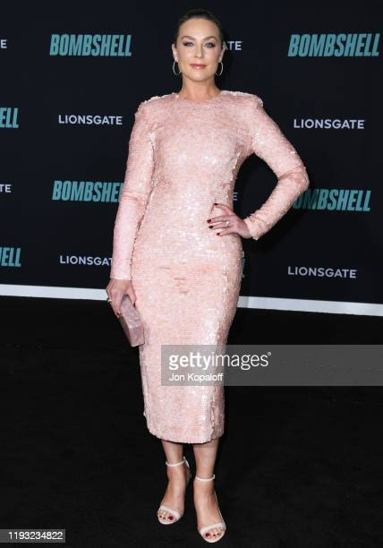 Elisabeth Rohm attends Special Screening Of Liongate's Bombshell at Regency Village Theatre on December 10 2019 in Westwood California