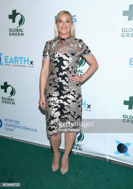 Elisabeth Rohm attends the 15th Annual Global Green PreOscar Gala on February 28 2018 in Los Angeles California