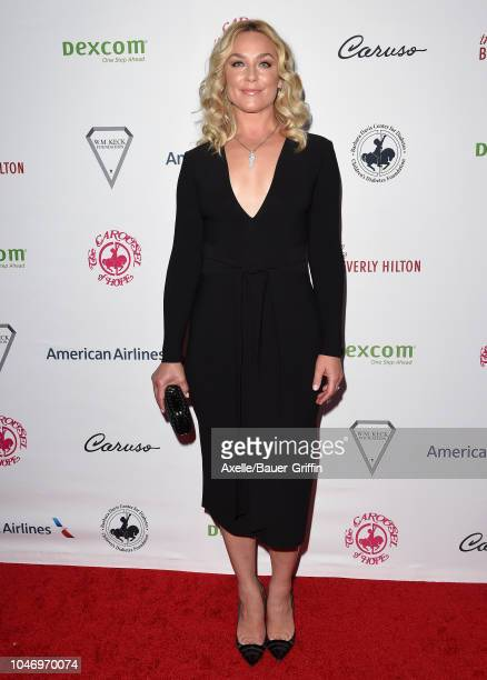 Elisabeth Rohm attends the 2018 Carousel of Hope Ball at The Beverly Hilton Hotel on October 6 2018 in Beverly Hills California