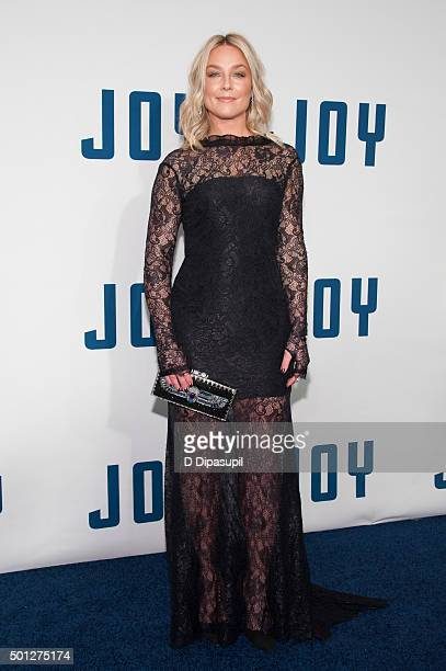 Elisabeth Rohm attends the 'Joy' New York premiere at the Ziegfeld Theater on December 13 2015 in New York City