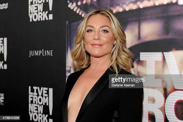 Elisabeth Rohm attends the Live From New York Los Angeles premiere at Landmark Theatre on June 10 2015 in Los Angeles California