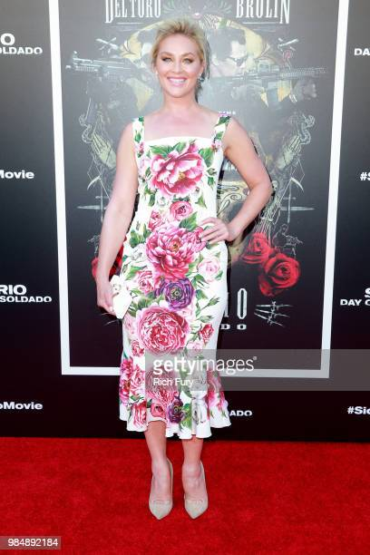 Elisabeth Rohm attends the premiere of Columbia Pictures' Sicario Day Of The Soldado at Regency Village Theatre on June 26 2018 in Westwood California