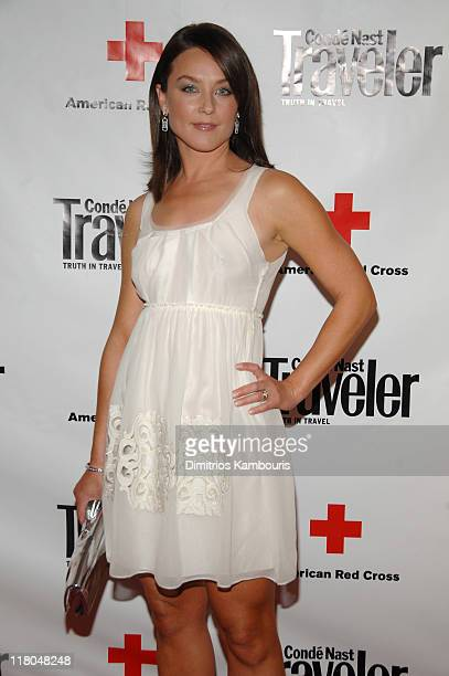Elisabeth Rohm during 2007 Conde Nast Traveler Hot List Party Arrivals in New York City New York United States