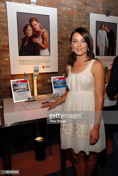 Elisabeth Rohm during 2007 Conde Nast Traveler Hot List Party Inside at The Bowery Hotel in New York City New York United States