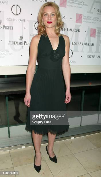 """Elisabeth Rohm during Audemars Piguet and The Breast Cancer Research Foundation Join Forces In """"A Promesse To Win"""" at Guastavino's in New York City,..."""