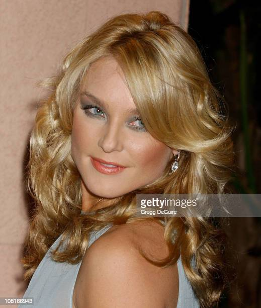 Elisabeth Rohm during Clive Davis' 2005 PreGRAMMY Awards Party Arrivals at Beverly Hills Hotel in Beverly Hills California United States