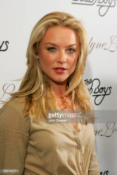 Elisabeth Rohm during Fashion for Passion Featuring the Beach Boys Arrivals at The Cabana Club in Hollywood California United States