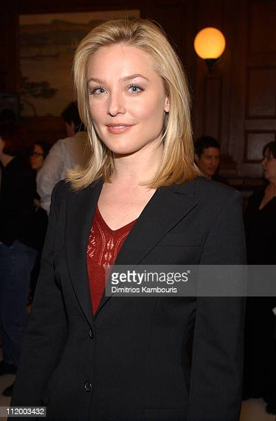 Elisabeth Rohm during Law Order Celebrates 300th Episode at Chelsea Piers in New York City New York United States