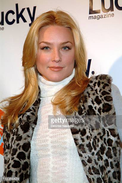 Elisabeth Rohm during Lucky Magazine Hosts Lucky Shops Fundraiser Benefiting The Robin Hood Foundation at Gotham Hall in New York City New York...
