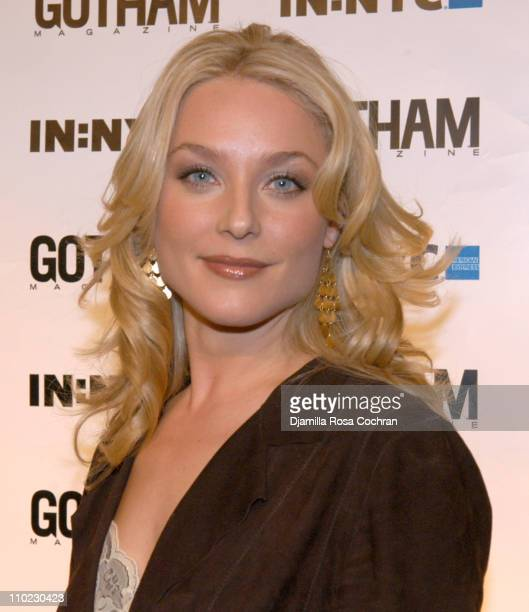 Elisabeth Rohm during Nicolas Cage and Gotham Magazine Celebrate 5th Anniversary at Cipriani in New York City New York United States