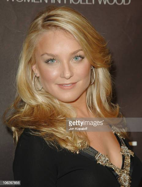 Elisabeth Rohm during The 12th Annual Premiere Women in Hollywood at The Beverly Hilton Hotel in Los Angeles California United States