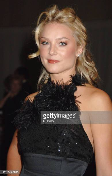 Elisabeth Rohm during The Greater New York Chapter of the American Red Cross Honors Former President Bill Clinton at World Financial Center Winter...